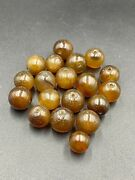 Old Ancient Antique Carnelian Agate Jewelry Amulet Beads From China Liao Dynasty