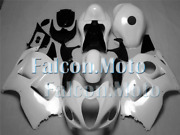 Glossy White Complete Injection Fairing Fit For 1997-2007 Gsxr 1300r Abs New Acg