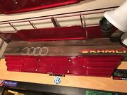 Mercedes Benz W124 Heckblende, All Red, Sacex, Hard To Find, Repaired
