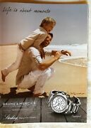Baume And Mercier Copeland Watch Spanish Colombia Full Page Original Ad