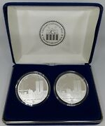 Northern Mariana Isl.2pc World Trade Ctr Freedom Tower.999 Silver/silver Clad2