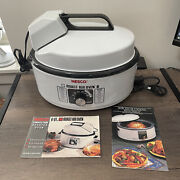Nesco 6 Quart Roast - Air Oven Model 4946-10 Made In The Usa With Rack