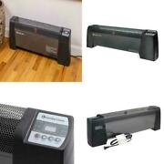 Digital Baseboard Space Heater Electric Timer Function Home Indoor 1.2k Sq Ft
