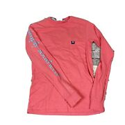 Simply Souther Womenandrsquos Long Sleeve Coral T Shirt Size Xs Classic Logo Tee