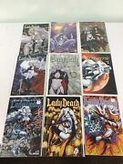 Lady Death Comic Book Lot 18 Avatar And Chaos Swimsuit Lingerie Shi 1/2 0