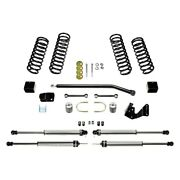 For Jeep Wrangler Jk 18 3 X 3 Sport Ii Front And Rear Suspension Lift Kit