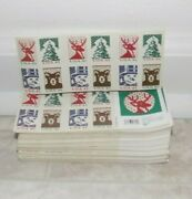 Usa .41 Christmas Book Of Stamps - Sold In Sets Of 10 Books - 200 Stamps 69.99