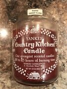 Home Sweet Home Yankee Candle Company Large Jar White Country Kitchen Label