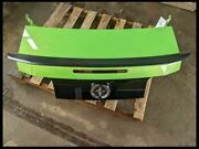 2013 2014 Ford Mustang Gt Boss Hd Green Rear Trunk Deck Lid Finish Panel Wing