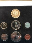 1967 Royal Canadian Mint Canada Centennial 20 Gold And Silver Specimen Coin Set