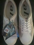 Alinghi Deck Or Tennis Shoes North Sails White Nylon, Leather And Suede Composite