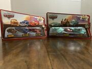 Fred Hudson Hornet And Mcqueen + Ramone Tractor And Mater Diecast Cars 3-pack