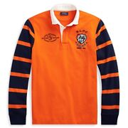 Nwt Mens Polo Classic Fit Rugby Long Sleeve Polo Shirt Sz L 168