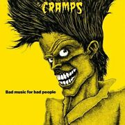 The Cramps Bad Music For Bad People Decal Vinyl Bumper Sticker Or Fridge Magnet