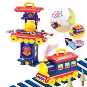 2 In 1 Multi-style Kitchen Cooking Play And Portable Small Train Learning Set