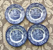 Liberty Blue Staffordshire Dinnerware Excellent Condition 1975-1981 Discontinued