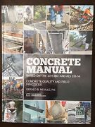 Concrete Manual Based On The 2015 Ibc And Aci 318-14
