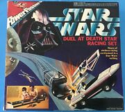 Star Wars 1978 Power Passers Duel At Death Star Racing Set Sealed Box