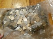 Sealed Bag 2000 Mixed Circulated One Dollar Coins, No Rolls Presidential And...