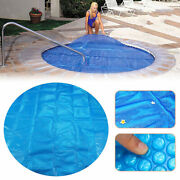 7x7ft Round Hot Tub Heat Retention Cover Heat Retention Bubble Spa Thermal