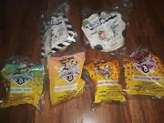 Lot Of 6 Happy Meal Toys Animaniacs And Vtg Tiny Toons Mcdonalds Toys,rare Bag66