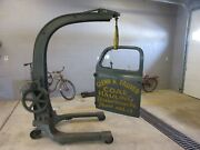 Door Ford Coal Truck F6 Advertising Late 1940's Early 1950's Original Paint