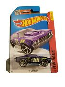 2013 Hot Wheels Race And03969 Chevelle Purple 140/250