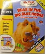 New In Package My First Leap Pad Bear In The Big Blue House Tutters Tiny Trip