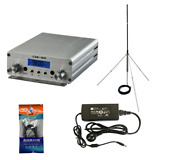 15w Fm Stereo Pll Broadcast Transmitter Fm Excite +gp Wave Antenna + Powersource