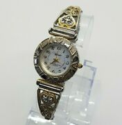 Wrangler Two Tone Gold And Silver Two Tone Watch For Women, Vintage Ladies Watches