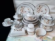Midwinter Stonehenge Wild Oats Dinnerware 31 Pcs Set For 4 Discontinued Vintage