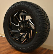 20x10 D753 Fuel Reaction Wheels 33 Yokohama At Tires 6x135 Ford F150 Expedition