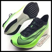 Nike Zoom Fly 3 Vaporweave Mens Size 11 Running Shoes Electric Green At8240-300