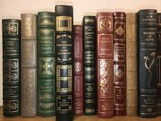 Franklin Library 15 Volumes 100 Greatest Have Scuffs And Some Wear Leather