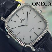 Omega Deville Antique Watches 1970s Gray Black Mens Cal.625 From Japan