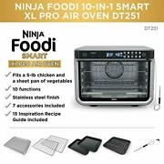 Dt251 Foodi 10-in-1 Smart Air Fry Digital Countertop Convection Toaster Oven