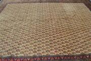 9and0395x12and0397 Semi Antique Vintage Allover Paisley Design Handmade Wool Area Rug 9x13