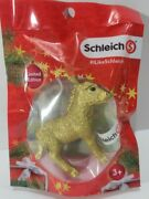 New In Factory Sealed Pack Schleich Golden Donkey Elmar Limited Edition -