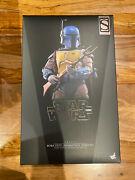 Hot Toys Star Wars Boba Fett Animated Version Tms006 With Shipper Box
