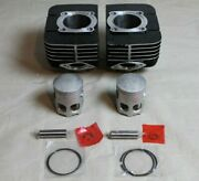 Yamaha Rd350 Cylinder Replacement Kit - Pistons Rings Wrist Pins 1973 - 1975