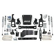 For Chevy Silverado 2500 Hd 11-12 Suspension Lift Kit 6.5 X 5 Standard Front And