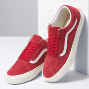 Off The Wall Suede Old Skool Us Free Shipping Skate Red Discontinued Unisex