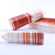 Natural Crystal Pleasure Wand Pork Ttone Crystal Wands Point For Healing