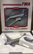 Ertl Collectibles Douglas Dc-3 Trans World Airline Twa Replica 2nd In A Series
