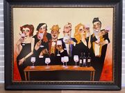 Just A Taste By Todd White-ltd Ed. Print Embellished Giclandeacutee On Canvas 34/125