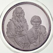 Rarities 1988 Star Wars First Ten Years Han Solo Chewbacca 1 Oz .999 Silver Coin