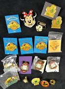 Lot Of 18 Vintage Disney Pins Character Jewelry Cast Member Exclusive