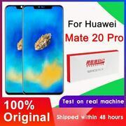 Original 6.39and039and039 Display With Fingerprint Replacement For Huawei Mate 20 Pro Lcd