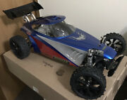 Hurrax Crypton 2g Rs 1/5 Scale Rc 4wd Roller With Jetpro Pipe