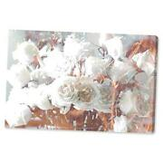 Floral And Botanical Wall Art Canvas Prints 'rose 36 X 24 Canvas Print